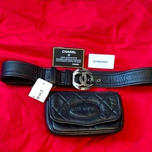 CHANEL FANNIE PACK BELT with AUTHENTICITY CARD
